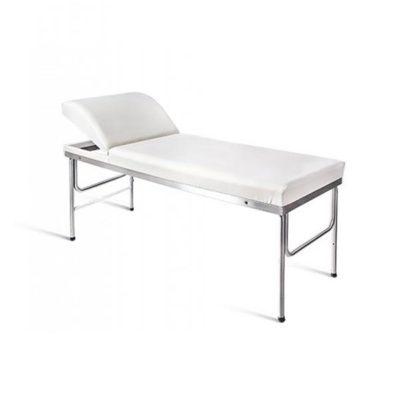 Εξεταστικό Κρεβάτι με ανακλινόμενο προσκέφαλο