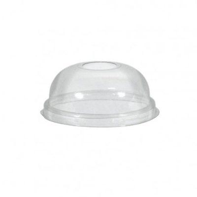 Πλαστικό Καπάκι Διάφανο Πομπέ Ø95mm 100τμχ