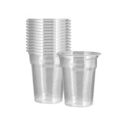 Ποτήρια πλαστικά 250ml μιας χρήσης
